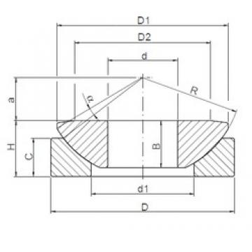 ISO GE15AW plain bearings