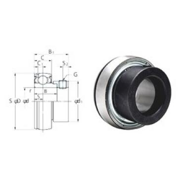 KOYO SA201F deep groove ball bearings