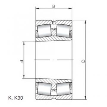 ISO 22308 KW33 spherical roller bearings
