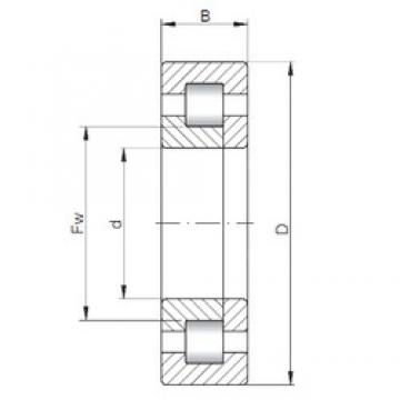 ISO NUP410 cylindrical roller bearings