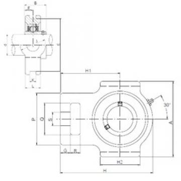 ISO UCT203 bearing units