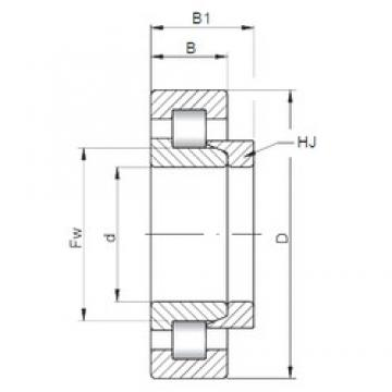 ISO NH413 cylindrical roller bearings