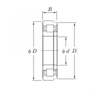 KOYO NUP2209R cylindrical roller bearings