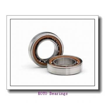 KOYO 7307 angular contact ball bearings