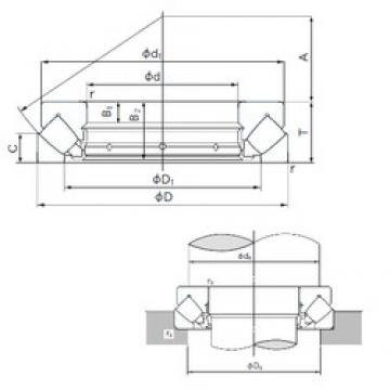 NACHI 29368E thrust roller bearings