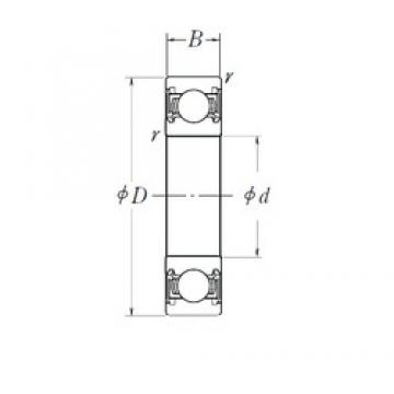 FAG 800736 deep groove ball bearings