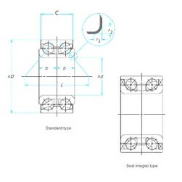 FAG SA0075 angular contact ball bearings