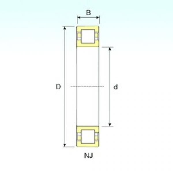 ISB NUP 217 cylindrical roller bearings #2 image