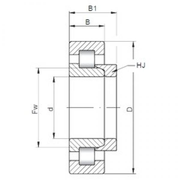 ISO NH2318 cylindrical roller bearings #3 image