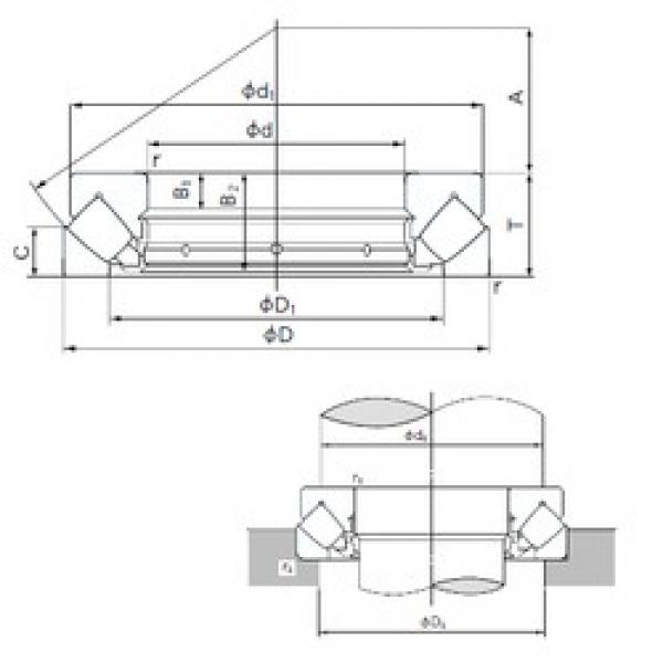 NACHI 29460E thrust roller bearings #1 image